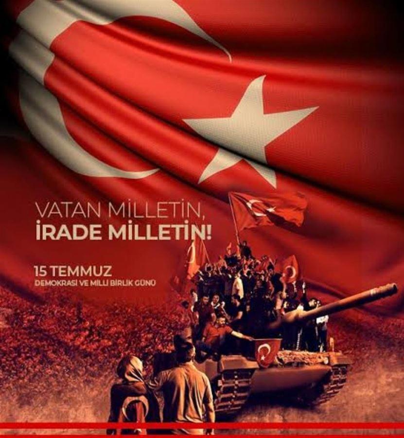 15 Temmuz Demokrasi ve Birlik Beraberlik Günü